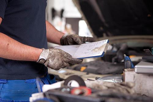 Auto-mit-Motorschaden-verkaufs-service